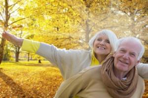 Rentnerpaar - PKV und GKV im Alter